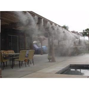 室外餐厅人造雾喷雾降温设备厂家