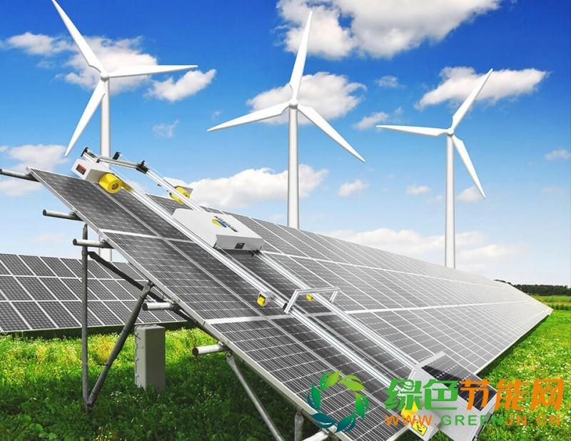 利尔阳光聚焦智能清洁服务,光伏板清洗机器人,太阳能光伏清洗机器人