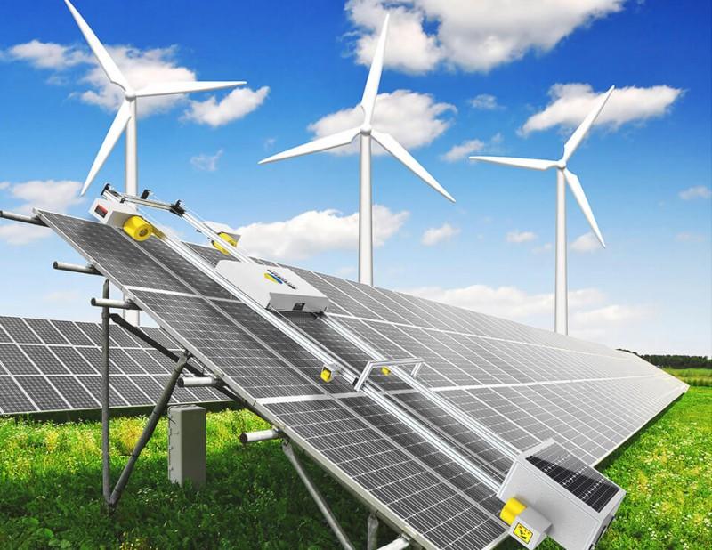 利尔阳光聚焦智能清洁服务,光伏板清洗机器人,太阳能光伏清洗-- 深圳利尔阳光科技有限公司
