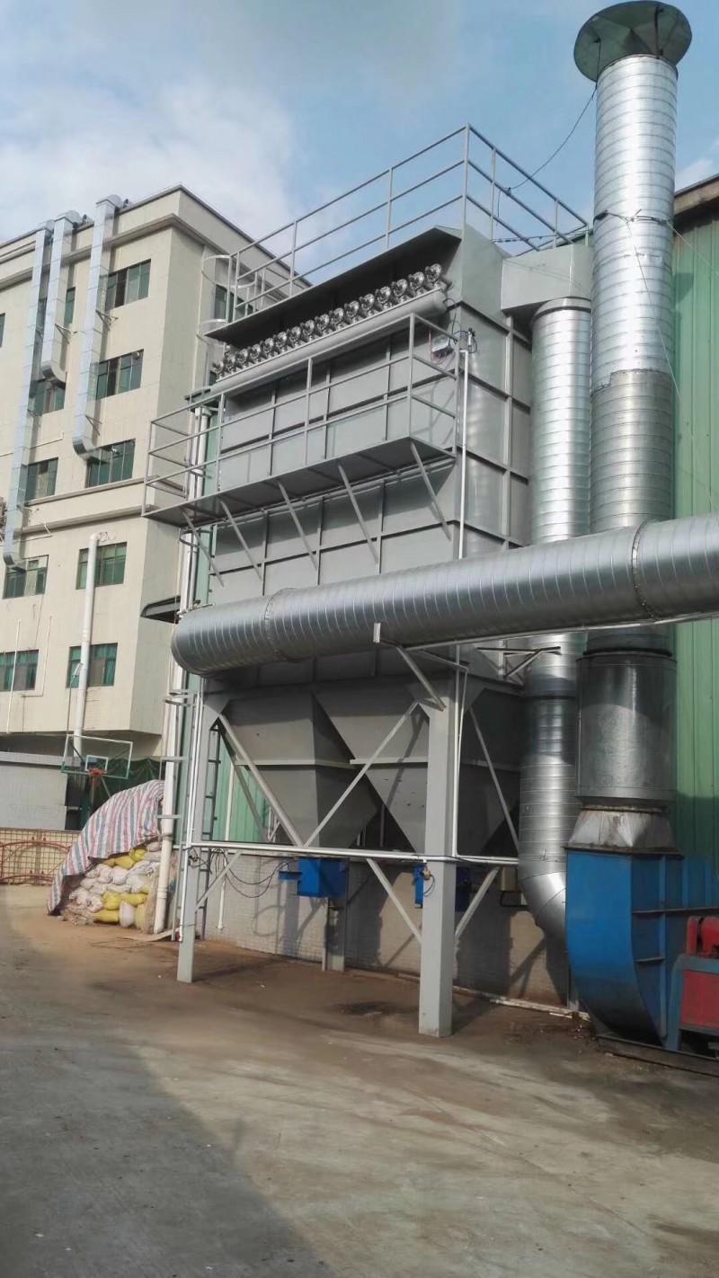 脉冲式除尘器 加工定制-- 广东绿深环境工程有限公司