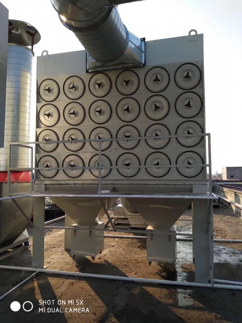 沉流式脉冲滤筒除尘器 加工定制-- 广东绿深环境工程有限公司