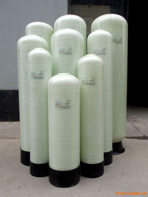 玻璃钢罐  软化树脂罐   多介质石英砂过滤罐-- 济南庆源水处理科技有限公司