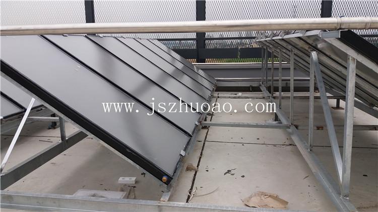 苏州正大会员商场打造平板太阳能热水工程-- 江苏卓奥节能设备安装工程有限公司