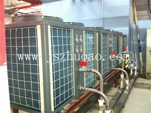 安徽滁州水晶宫洗浴中心空气能热泵热水工程-- 江苏卓奥节能设备安装工程有限公司