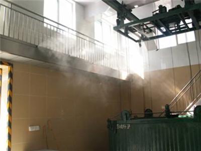 垃圾站喷雾除臭降温雾化设备-- 深圳通宝环境技术有限公司