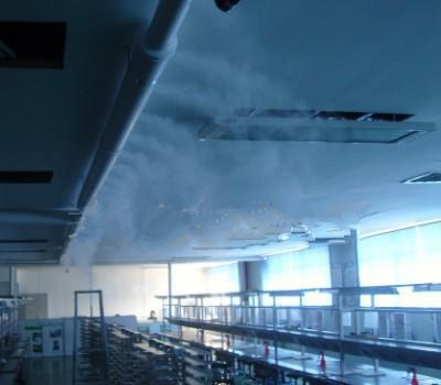 铁皮厂房车间专业人造雾喷雾降温-- 深圳通宝环境技术有限公司