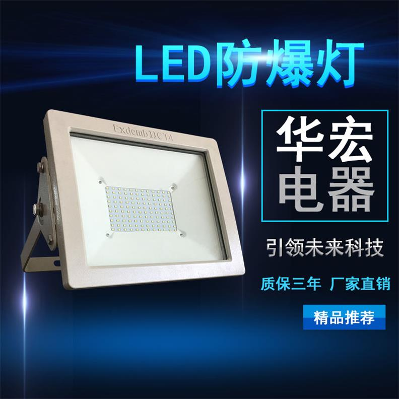 BAD808-L2 100W LED防爆投光灯 防爆射灯-- 宜兴市华宏电器制造有限公司销售部