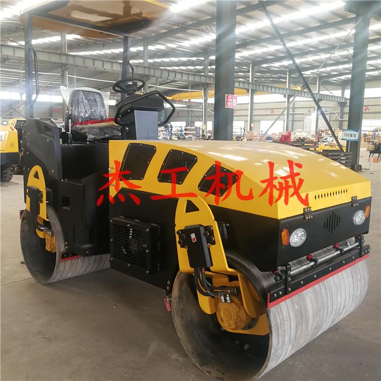 小型压路机 人行道路面铺设设备 压实沥青路面整平机-- 山东省杰工机械设备有限公司