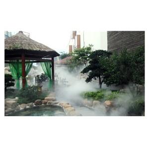 温泉做人造雾喷雾设备效果