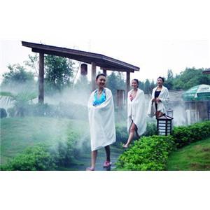温泉人造雾的效果作用体现