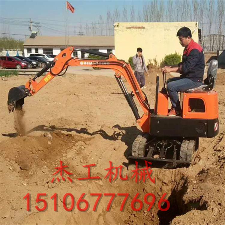 台州小型挖掘机全新 工程果园迷你挖沟机 履带挖掘机-- 山东省杰工机械设备有限公司