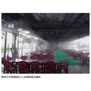 餐厅酒吧喷雾降温人造雾设备