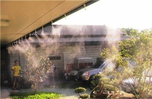餐厅酒吧人造雾喷雾降温设备厂家-- 深圳通宝环境技术有限公司