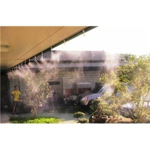 餐厅酒吧人造雾喷雾降温设备厂家