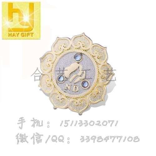 金属徽章定制,徽章制作价格,胸章定做批发-- 惠州合艺工艺制品有限公司