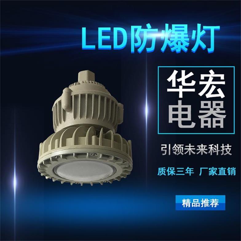 BAD808-M LED防爆灯 LED应急防爆灯-- 宜兴市华宏电器制造有限公司销售部
