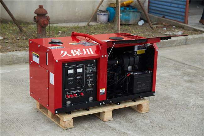 永磁水冷35千瓦静音柴油发电机