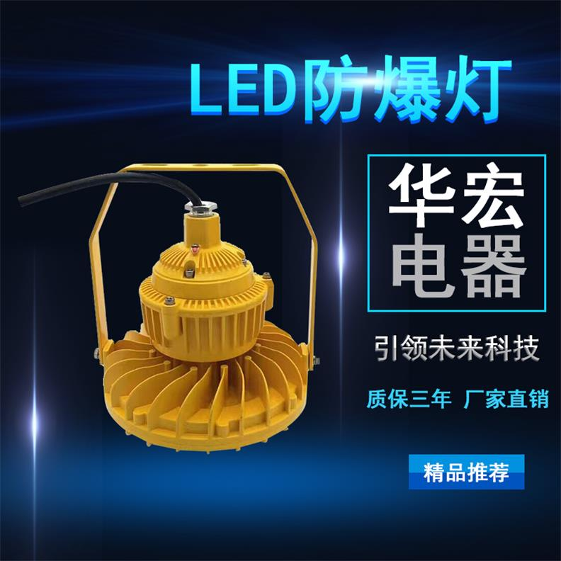 BAD808-M2 LED防爆灯 圆形LED防爆灯-- 宜兴市华宏电器制造有限公司销售部