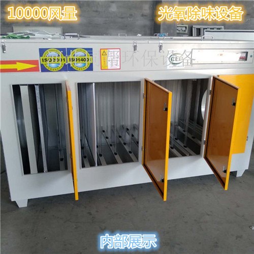 10000风量UV光解催化废气处理设备价格-- 河北京信环保设备有限公司