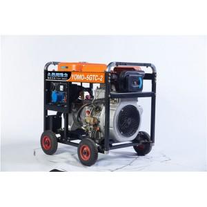 5kw开架式柴油发电机体积