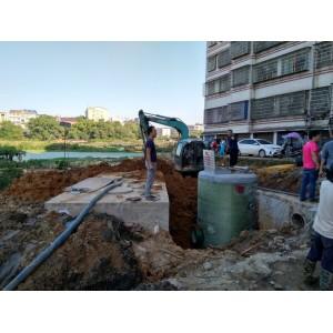 永州市政定购我司环保型一体化预制泵站