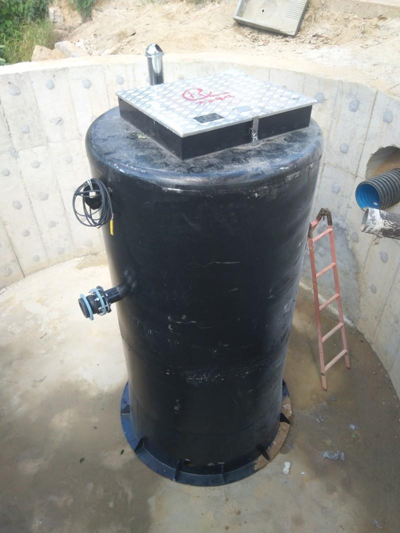 走进皖南山区的不锈钢环保型一体化预制泵站-- 无锡浩润环保