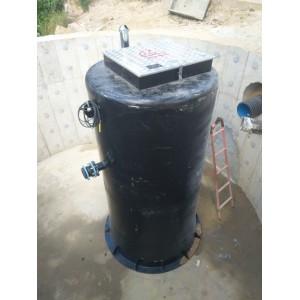 走进皖南山区的不锈钢环保型一体化预制泵站