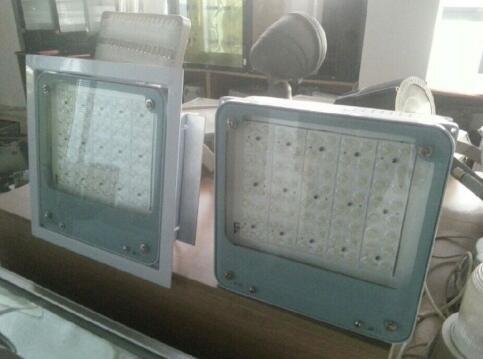 80W加油站照明 嵌入式LED油站灯 BY500方形灯-- 金坛市洪冠电器有限公司