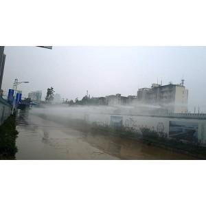 碧桂园建筑工地智能环保喷雾除尘设备工程