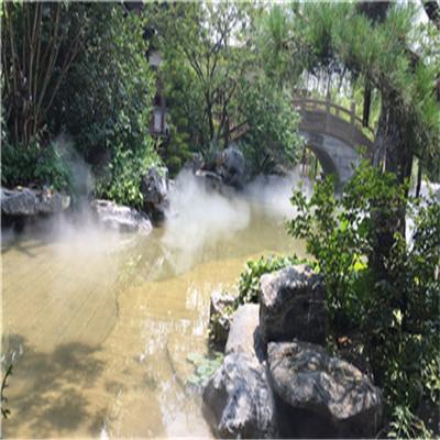 重庆长生古镇4A风景区景观冷雾系统/雾森造雾工程-- 深圳市通宝环境技术有限公司