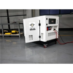 静音10千瓦柴油发电机体积