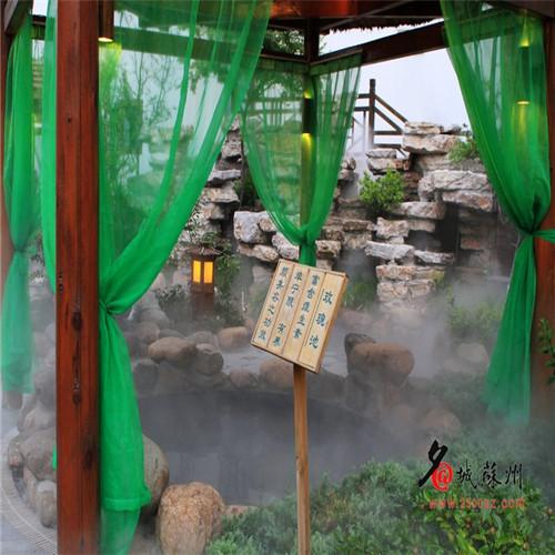温泉酒店雾效人工造雾设备系统工程-- 深圳市通宝环境技术有限公司