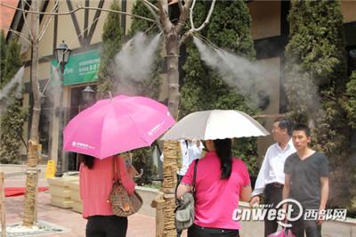 休闲广场公园专业冷雾降温加湿设备厂家-- 深圳市通宝环境技术有限公司