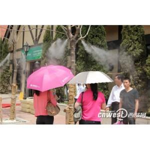 休闲广场公园专业冷雾降温加湿设备厂家