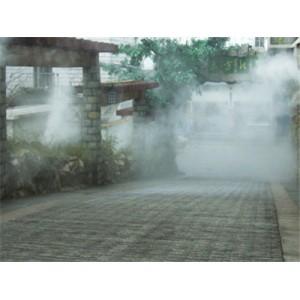 室外喷雾降温冷雾工程厂家批发
