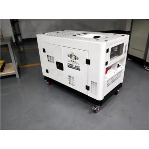 380V静音10千瓦柴油发电机
