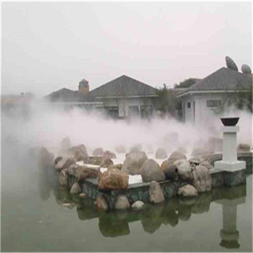 农家乐园林景观造雾系统工程厂家直销-- 深圳市通宝环境技术有限公司