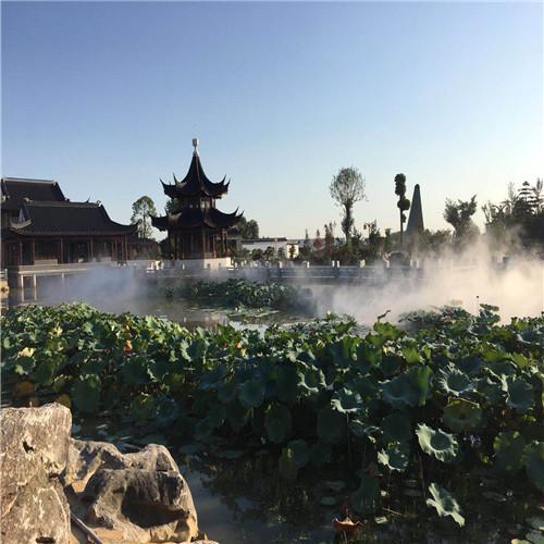 安徽合肥景区景点雾森环保人造雾系统工程-- 深圳市通宝环境技术有限公司