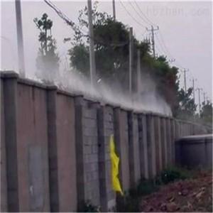 清远建筑工地环保智能喷雾除尘系统工程