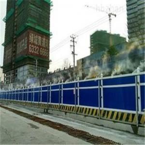 安徽合肥建发建筑工地智能喷淋喷雾降尘设备