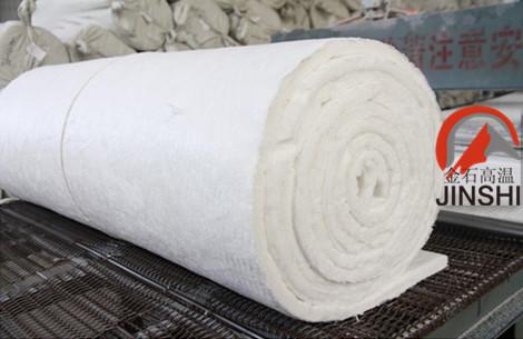 工业炉背衬施工陶瓷纤维毯隧道窑平铺毯现货出售-- 山东淄博金石高温耐火材料有限公司