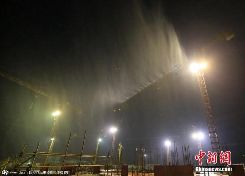 机械作业场地粉尘污染治理高压喷雾除尘设备-- 深圳市通宝环境技术有限公司