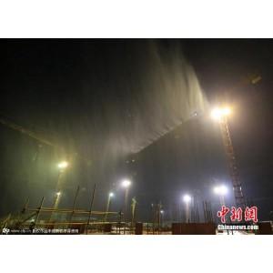 机械作业场地粉尘污染治理高压喷雾除尘设备