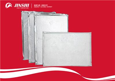 炼钢厂保温专用纳米隔热板钢包内衬绝热板-- 山东淄博金石高温耐火材料有限公司
