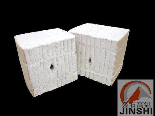 铝合金热处理炉保温硅酸铝纤维棉保温模块-- 山东淄博金石高温耐火材料有限公司