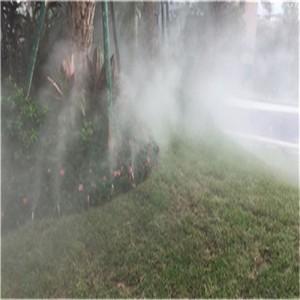 房地产绿化带人工造雾系统工程