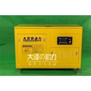 水冷25kw静音柴油发电机大泽动力