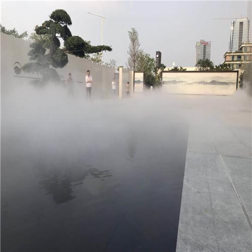 景区人工湖雾喷冷雾系统工程-- 深圳市通宝环境技术有限公司