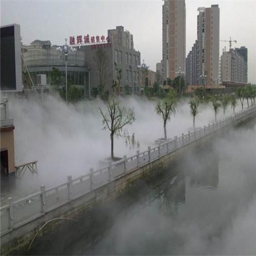 公园人工湖荷花池水景雾景冷雾系统工程-- 深圳市通宝环境技术有限公司
