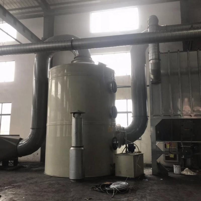 处理酸碱废气的PP喷淋塔-- 太仓市吉利防腐化工设备有限公司